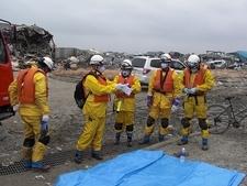 Nous avons envoyé le corps de sapeurs-pompiers