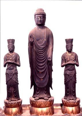 dozoaya*sansonritsuzo of Hosho temple
